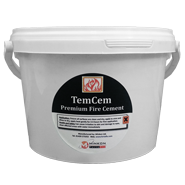 Fire Cement - Black - 500g Tub