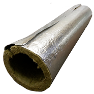 Rockwool Tube - 1000mm long 150mm