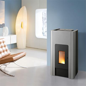 Pallazza  - Pellet Stove Anthracite/black