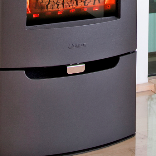 Contemporary Stoves Aduro 8 Defra With Drawer Black