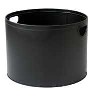 Fire Basket - Black Ø 44x32cm. Round.