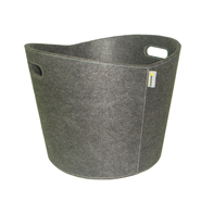 ** Proline - Grey Fire Basket - Ø 39x31cm. Felt.