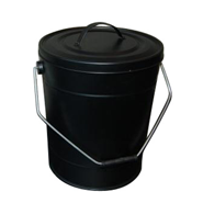 Proline Ash Bucket Black