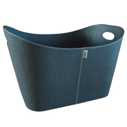 ** Baseline - Black Fire Basket - 55x45x30cm. PET.