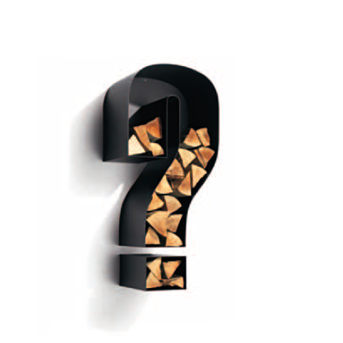 Wall Wood Holders Question Mark Wall Wood Holder Alba