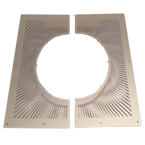 Ventilated Firestop Plate - 641